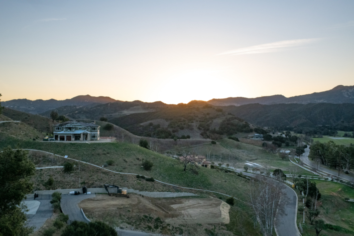 New Construction in Malibu Valley